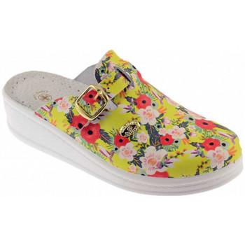 Schoenen Dames Leren slippers Sanital  Multicolour