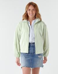 Textiel Dames Wind jackets Levi's BOK CHOY Groen