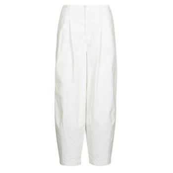 Textiel Dames 5 zakken broeken Levi's CRISP TWILL TOFU Beige