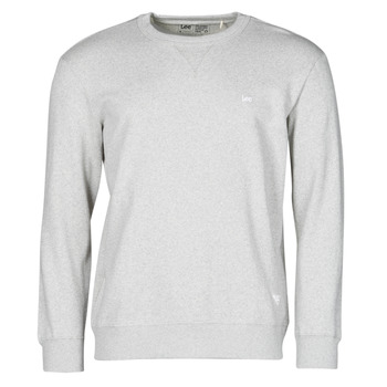 Textiel Heren Sweaters / Sweatshirts Lee SUSTAINABLE CREW SWS GREY MELE Grijs