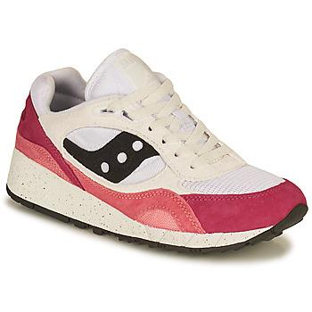 Schoenen Dames Lage sneakers Saucony SHADOW 6000 Wit / Roze