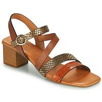 Schoenen Dames Sandalen / Open schoenen Hispanitas OLGA Brown / Brons