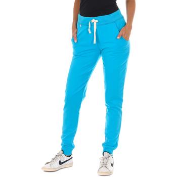 Textiel Dames Trainingsbroeken Met Pantalon de survêtement long Blauw
