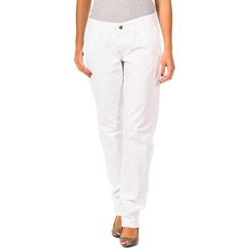 Textiel Dames Chino's Gaastra Pantalon long Wit
