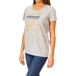 Textiel Dames T-shirts korte mouwen Gaastra T-shirt à manches courtes Grijs