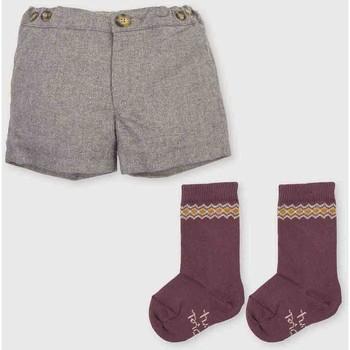Textiel Jongens Korte broeken / Bermuda's Tutto Piccolo Bermudes Grijs