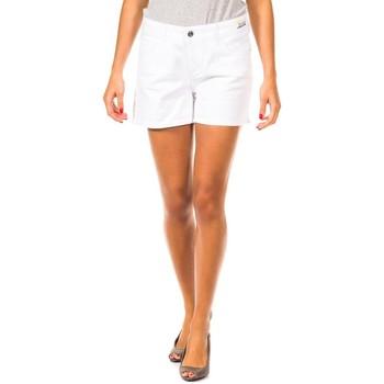 Textiel Dames Korte broeken / Bermuda's Gaastra Short Wit