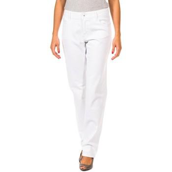 Textiel Dames Broeken / Pantalons Gaastra Pantalon long Wit