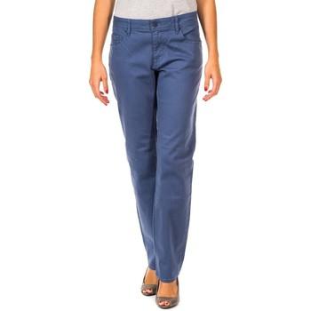 Textiel Dames Broeken / Pantalons Gaastra Pantalon long Blauw