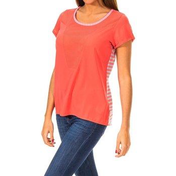 Textiel Dames T-shirts korte mouwen Gaastra T-shirt à manches courtes Rood