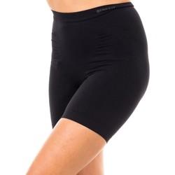 Textiel Dames Korte broeken / Bermuda's Marie Claire Short Réducteur Minceur Zwart