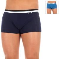 Ondergoed Heren Boxershorts DIM Pack-2 Boxers Blauw