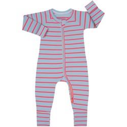 Textiel Kinderen Jumpsuites / Tuinbroeken DIM Barboteuse à manches longues avec fermeture éclair Multicolour