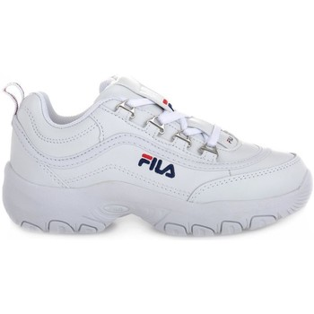 Schoenen Kinderen Lage sneakers Fila Strada Low Junior Blanc