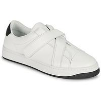 Schoenen Dames Lage sneakers Kenzo ENZO KOURT SCRATCH SNEAKERS Wit