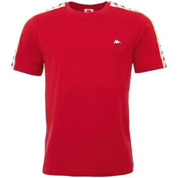 Textiel Heren T-shirts korte mouwen Kappa Hanno Rouge