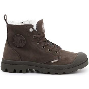 Schoenen Dames Snowboots Palladium Manufacture Pampa HI Zip WL Marron