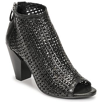 Schoenen Dames Low boots Mimmu INTRECCIO-NERO-PARKER Zwart