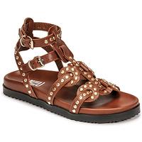 Schoenen Dames Sandalen / Open schoenen Mimmu VITELLO-CUOIO Brown
