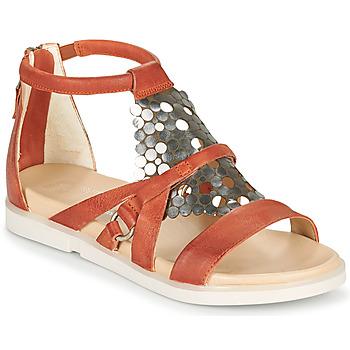 Schoenen Dames Sandalen / Open schoenen Mjus KETTA Brique / Zilver