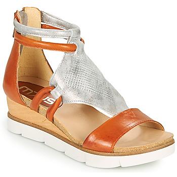 Schoenen Dames Sandalen / Open schoenen Mjus TAPASITA Brique / Zilver
