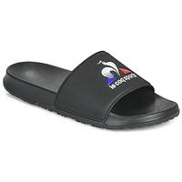 Schoenen Heren Slippers Le Coq Sportif SLIDE LOGO Zwart
