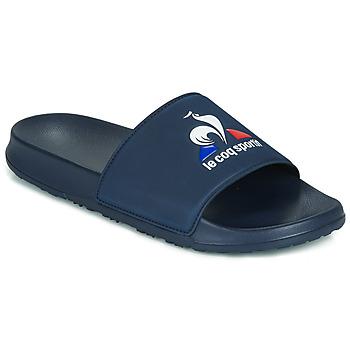 Schoenen Heren Slippers Le Coq Sportif SLIDE LOGO Blauw