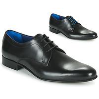 Schoenen Heren Derby Azzaro CRISTAN Zwart