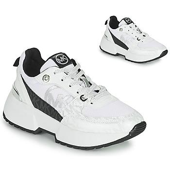 Schoenen Meisjes Lage sneakers MICHAEL Michael Kors COSMO SPORT Wit / Zwart