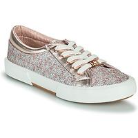 Schoenen Meisjes Lage sneakers MICHAEL Michael Kors IMA TINSEL Roze / Gold / Zilver