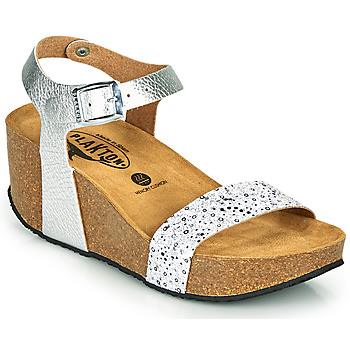 Schoenen Dames Sandalen / Open schoenen Plakton SO KISS Zilver
