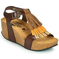 Schoenen Dames Sandalen / Open schoenen Plakton SO TONKA Brown