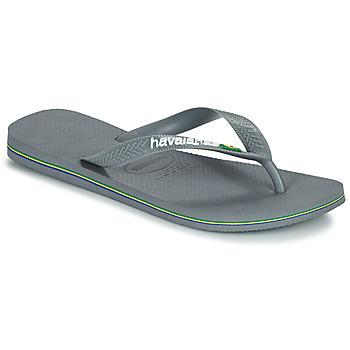 Schoenen Slippers Havaianas BRASIL Grey