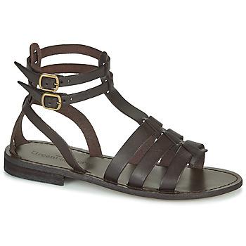 Schoenen Dames Sandalen / Open schoenen Dream in Green OBELLA Brown