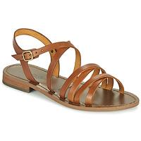 Schoenen Dames Sandalen / Open schoenen Dream in Green OBELLA Tan
