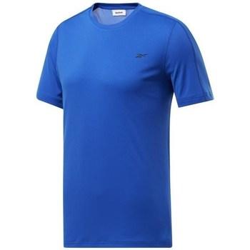 Textiel Heren T-shirts korte mouwen Reebok Sport Wor Comm Tech Tee Bleu