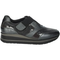 Schoenen Dames Instappers Riposella IC-20 Charcoal grey