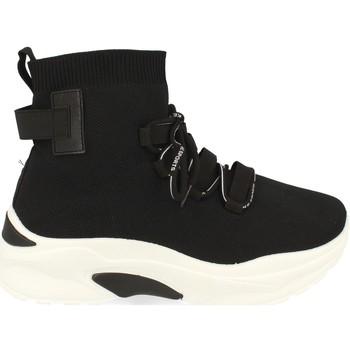 Schoenen Dames Hoge sneakers Buonarotti 1AP-1022 Negro