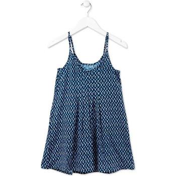 Textiel Meisjes Korte jurken Losan 714 7017AB Blauw