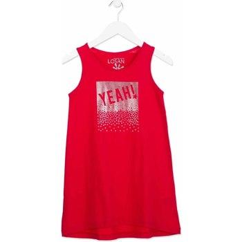 Textiel Meisjes Korte jurken Losan 814-7300AB Roze