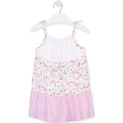 Textiel Meisjes Korte jurken Losan 016-7030AL Wit