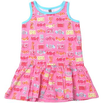 Textiel Meisjes Korte jurken Losan 816-7044AD Roze