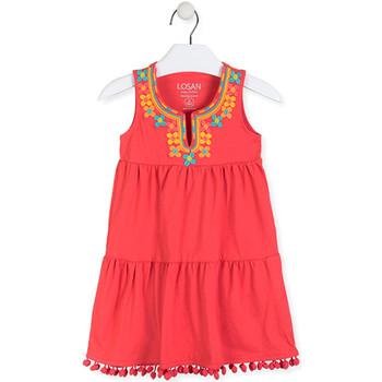 Textiel Meisjes Korte jurken Losan 016-7012AL Rood