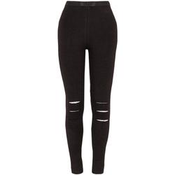 Textiel Meisjes Leggings Losan 024-6000AL Zwart