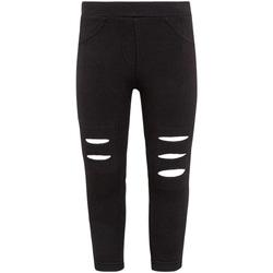 Textiel Meisjes Leggings Losan 026-6008AL Zwart