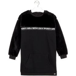 Textiel Meisjes Korte jurken Losan 024-7006AL Zwart