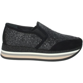 Schoenen Dames Lage sneakers Nina Capri IC-6 Black