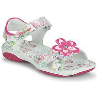 Schoenen Meisjes Sandalen / Open schoenen Primigi SARAH Wit / Multikleuren