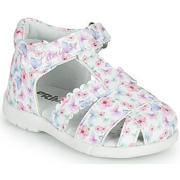 Schoenen Meisjes Sandalen / Open schoenen Primigi NOEMIE Wit / Multicolour