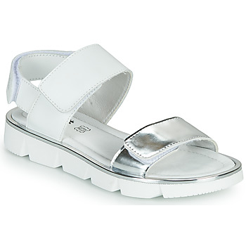Schoenen Meisjes Sandalen / Open schoenen Primigi ANNA Wit / Zilver